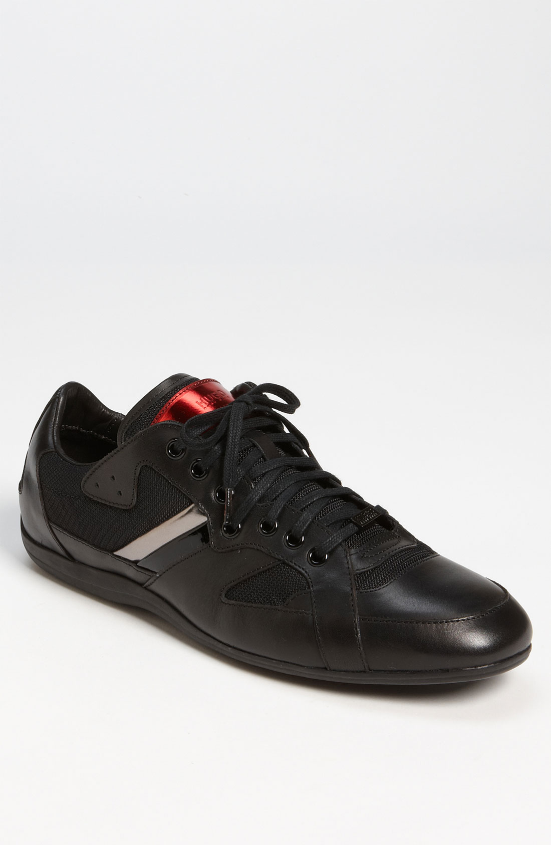 hugo boss black theto sneaker in black for men lyst. Black Bedroom Furniture Sets. Home Design Ideas