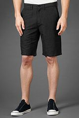 John Varvatos Mini Check Cargo Short - Lyst