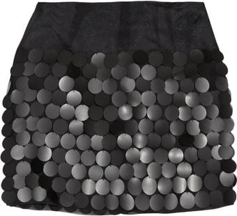Stella McCartney Paillette-embellished Organza Mini Skirt - Lyst