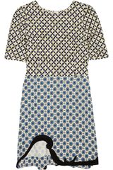Stella McCartney Nesbitt Printed Crepe Dress