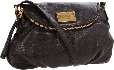 Marc By Marc Jacobs Classic Natasha Shoulder Bag in Black - Lyst