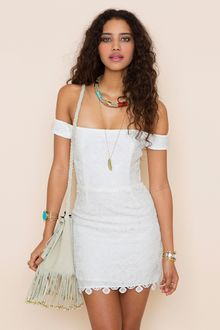 Nasty Gal Kristine Crochet Dress - Lyst