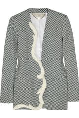 Stella McCartney Ray Printed Crepe Jacket