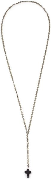 Vanessa Mooney Dominga Necklace in White - Lyst