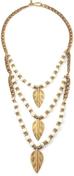Vanessa Mooney Pixie Necklace in White - Lyst