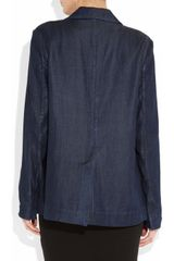 Acne Tilda Denim Blazer in Blue (denim) - Lyst