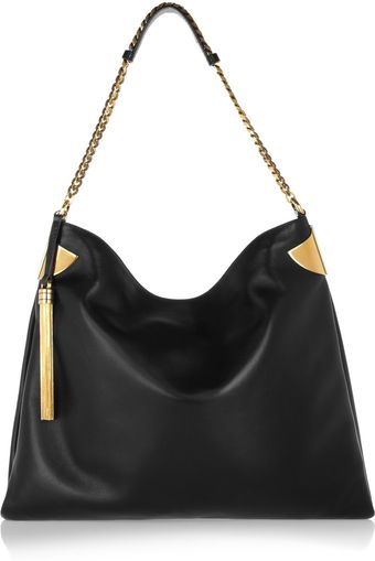 Gucci Large Leather Shoulder Bag - Lyst