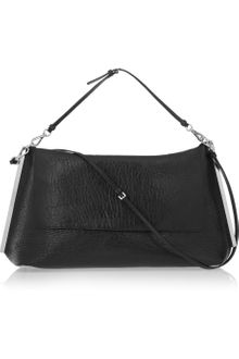 Jil Sander Structured Texturedleather Shoulder Bag - Lyst