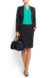 Mango Slim-fit Suit Jacket - Lyst