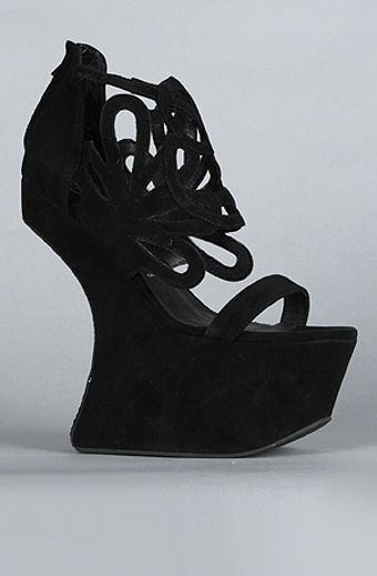 Jeffrey Campbell The Corleone Shoe in Black - Lyst