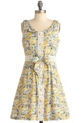 ModCloth Old Fashioned Fun Dress - Lyst