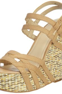 Nine West Womens Bardough Wedge Sandal - Lyst