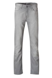 7 For All Mankind Grey Slim Straight Slimmy Jeans - Lyst