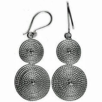 Chic Jewel Couture Rodas Earrings Silver - Lyst