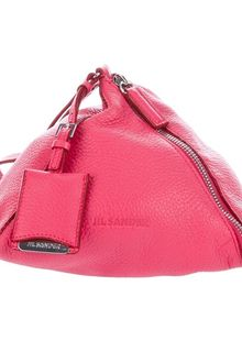 Jil Sander Leather Pyramid Clutch - Lyst
