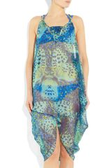 Matthew Williamson Embellished Silkmousseline Dress in Multicolor (multicolored) - Lyst