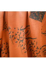 Mojee Design Rumi Scarf Orange in Orange - Lyst