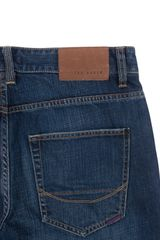 Ted Baker Bogan Usedlook Jeans Light Wash in Blue for Men - Lyst