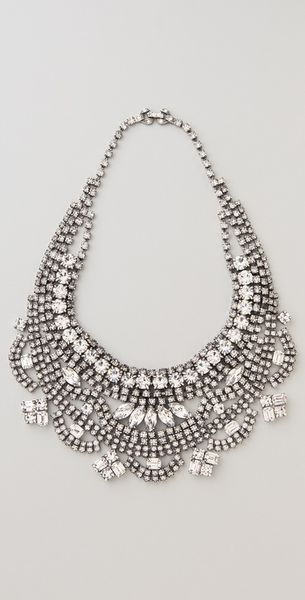 Tom Binns Madame Dumont Short Bib Necklace - Lyst