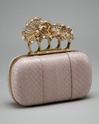 Alexander McQueen Punk Shell Box Clutch - Lyst