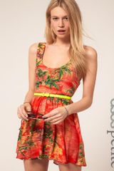 ASOS Collection Asos Petite Skater Dress in Hawaiian Print - Lyst