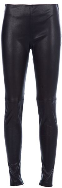 Balenciaga Leather Legging - Lyst
