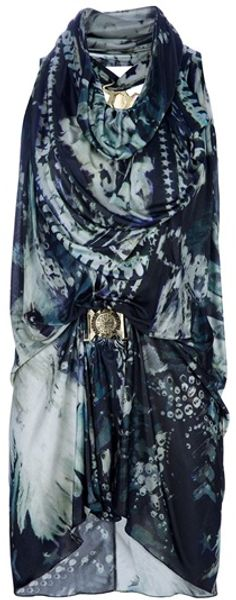 Balmain Eagle Print Top - Lyst