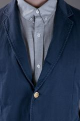 Band Of Outsiders Classic Blazer in Blue for Men - Lyst