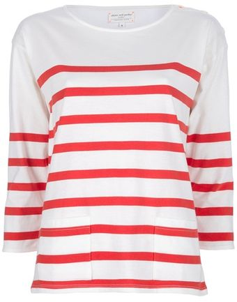 Chinti And Parker Stripe Sailor Tee - Lyst