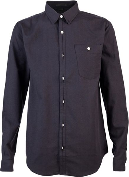Comune Howard Shirt in Black for Men - Lyst