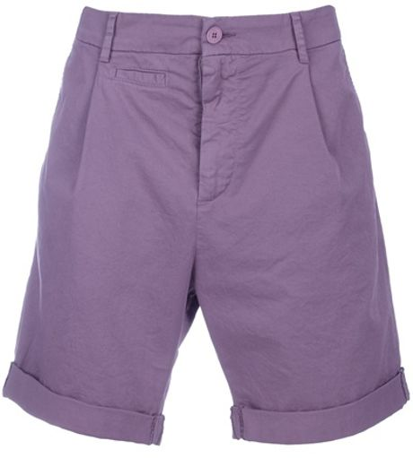 D&g Dg Bermuda Shorts in Purple for Men - Lyst