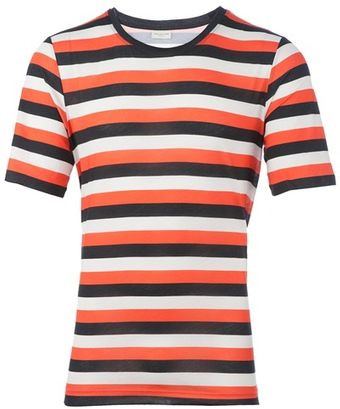 Dries Van Noten Hazystrip T-shirt - Lyst