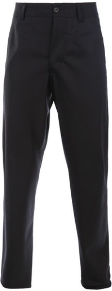Gustavo Lins Straight Leg Trouser in Blue for Men (navy) - Lyst