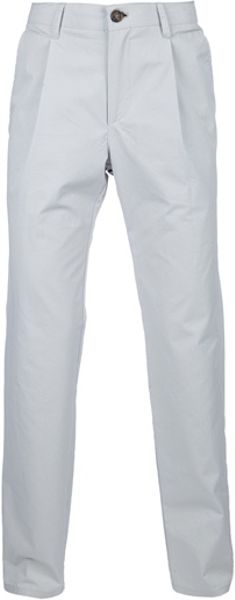 Kai Aakmann Handkerchief Chino in White for Men - Lyst