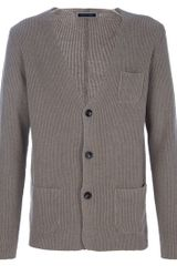 Roberto Collina Cotton Cardigan - Lyst