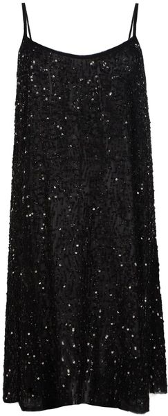 Allsaints Oil Vest Dress in Black (ebony) - Lyst
