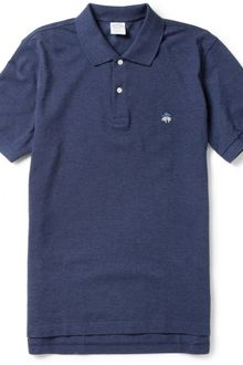 Brooks Brothers Slimfit Cottonpiqué Polo Shirt - Lyst