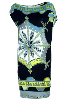 Emilio Pucci Printed Sheath Dress - Lyst