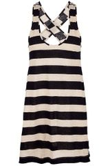 Forte Forte Striped Long Vest - Lyst