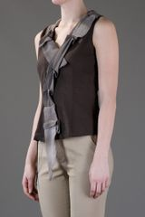 I Malloni Vest Top in Green - Lyst