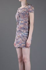 Iro Ripley Printed Dress in Blue - Lyst