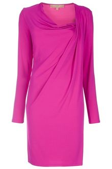 Michael Kors Draped Dress - Lyst