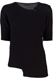 Proenza Schouler Side Zip Knit Sweater - Lyst