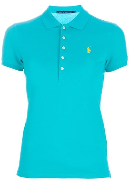 Ralph Lauren Blue Label Classic Polo in Blue - Lyst