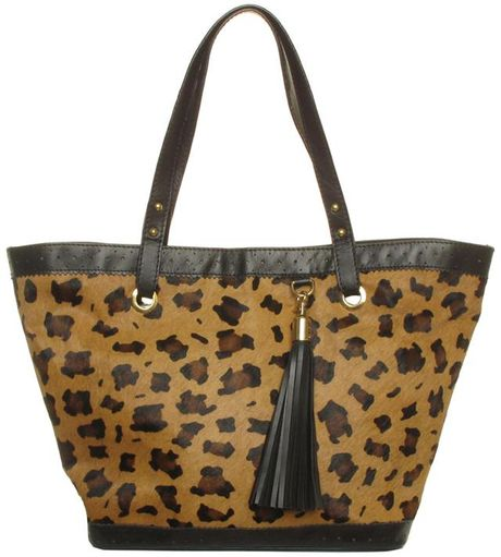 Sara Berman Ione Shopper Leopard in Animal (leopard) - Lyst