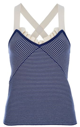 Sonia By Sonia Rykiel Striped Vest Top - Lyst