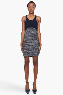 3.1 Phillip Lim Marled Layer Tank Dress - Lyst