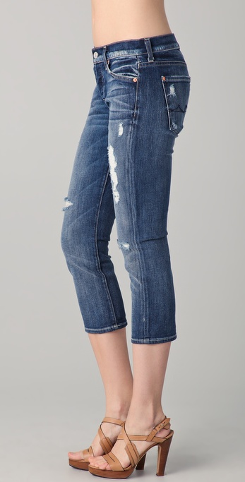 7 For All Mankind Josefina cropped jeans Good Selling Sale Online Sale Purchase Outlet 100% Original YDk5j7pctz