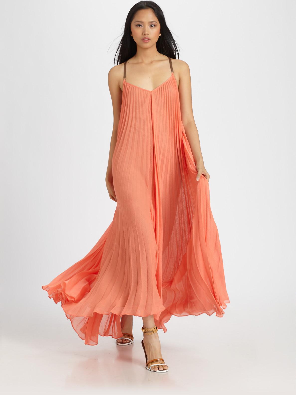 Sunburst Maxi Dress