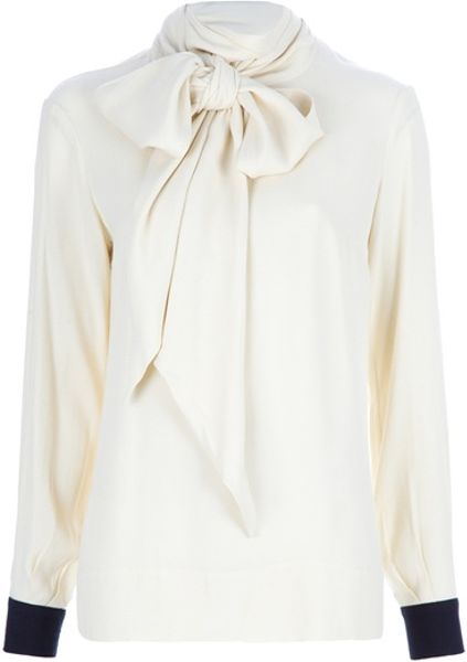 By Malene Birger Sofiana Top in Beige (nude) - Lyst
